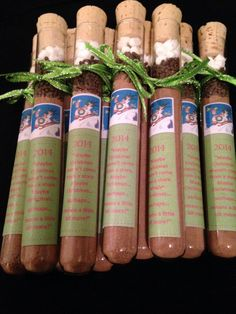 A personal favorite from my Etsy shop https://www.etsy.com/listing/213628031/the-grinch-hot-chocolate-test-tube