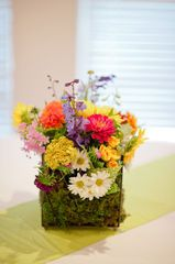 Breck & Carson Wedding Photos | Pictage Flowers by Artfully Arranged for Reception Centerpieces