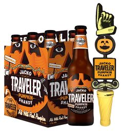 While most Shandies are made with lemon soda, Traveler brews its beers with real fruit, creating what the company has deemed the world's first pumpkin Shandy. It's already been spotted on shelves at Target.   - Delish.com