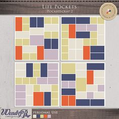 Life Pockets 2 by WendyP Designs