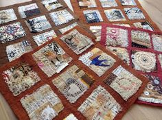 Jane LaFazio teaching at the Houston Quilt Festival 2015: Text on Textile
