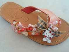 Elli's Shoes & Sandals: pink burberry kitty