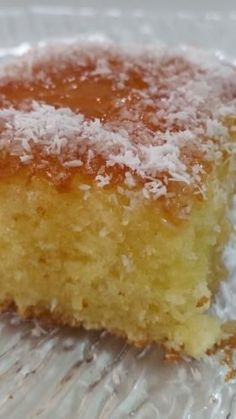 Coconut cake is light and tasty Dessert Cake Recipes, Desserts, Coconut Pound Cakes, Coffee Cake, Yummy Drinks, No Bake Cake, Sweet Recipes, Cake Decorating, Cake Cookies