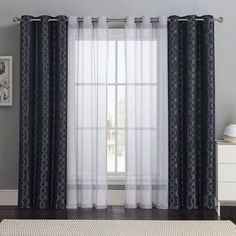 Hey everyone! I am working with a homeowner that has a sliding glass back door off of their den and was looking for ideas for window treatments. They do not use the door often, (outdoor furniture s…