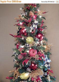 Mackenzie Child Inspired Design Christmas tree by TylerInteriors.