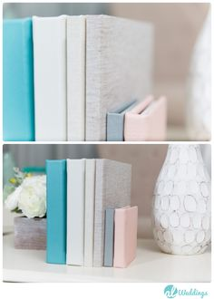 KISS Wedding Albums in various sizes, both leather and linen! (Photo by Al Weddings) Kiss Books, Wedding Albums, Pebble Grey, Wedding Kiss, Cover Gray, Keepsakes, Mother Of The Bride, Ds, Album Covers