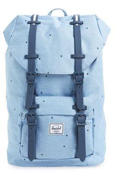 Herschel Supply Co. 'Little America- Mid Volume' Backpack Herschel Backpack Outfit, Herschel Bag, Laptop Backpack, Backpack Bags, Herschel Supply Co, Zipper Bags, Wallets For Women, Purse Wallet, Luggage Bags