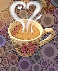 Coffee Cup  by Cindy Edwards