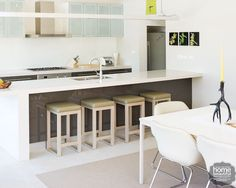 1000 images about kitchen 2 on pinterest dining for Galley kitchen with island bench