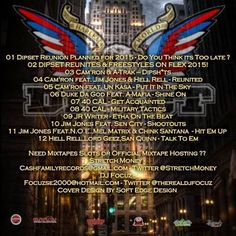 "JESSIE SPENCER: Mixtape Stream: Dipset (Cam'ron, Juelz Santana, Jim Jones, and Freeky Zeeky) - ""The Return Of The Diplomats"""