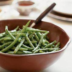 Oven-Roasted Green Beans | MyRecipes.com #myplate #vegetables