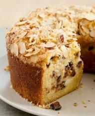 Sour Cream Coffee Cake with Figs and Cream Cheese Filling | Valley Fig Growers