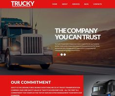 Logistics WP Theme is a great option for those who want to build a stylish and functional business website. With this custom theme the customers will be able to reach your website from their smartphones as the content will automatically adjust to any screen resolution. A full-width header image slider is the perfect place to efficiently convey what your business is about. Top Wordpress Themes, Transportation Industry, State Of Michigan, Themes Free, Header Image, Web Design Inspiration, Business Website, Perfect Place, Content