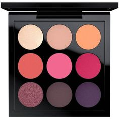 MAC Red-Hot Eye Shadow Palette X 9 ($53 Value) ($19) ❤ liked on Polyvore featuring beauty products, makeup, eye makeup, eyeshadow, beauty, cosmetics, filler, mac cosmetics eyeshadow, mac cosmetics and palette eyeshadow