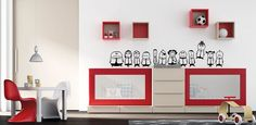 habitación infantil Home Decor, Base, Exterior, Color, Twin Boys Rooms, Kid Bedrooms, Convertible Crib, Wooden Cribs, Colour