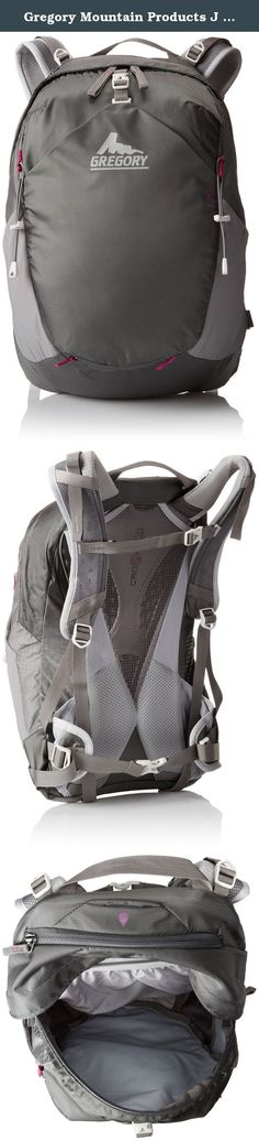 Gregory Mountain Products J 23 Backpack, Fog Gray, One Size. The smallest of the J Series packs might also be the most versatile: from hiking to running and mountain biking, the J23 can carry all the essentials without slowing you down. Designed to meet minimalist fitness hikers' needs, this small wonder goes beyond definition to become a crucial partner in your everyday life.