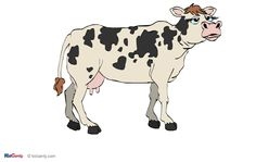 cool cow Cow, Moose Art, Animation, Cool Stuff, Cards, Animals, Cool Things, Animais, Animales