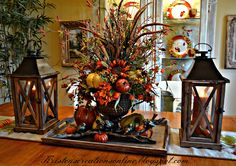 I hope you all are enjoying fall! It will be Thanksgiving before we know it...two more weeks!      I shared my fall mantel several weeks a...