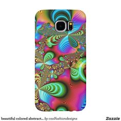 beautiful colored abstract case samsung galaxy s6 cases