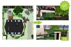 Naturalistic garden. Make your own project: http://mygreenspace.pl/en
