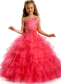 Party Time Formals Girls Pageant Dresses and Gowns. Glamorous and Spectacular Girls Pageant Dress at TheRoseDress