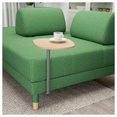 IKEA - FLOTTEBO Sleeper sofa with side table Lysed green