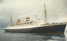 S.S. Nieuw Amsterdam, Dispatch, Cruise Ship, Holland-America Line