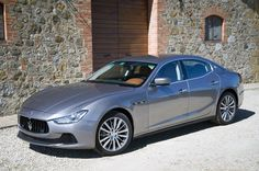 "2014 Maserati Ghibli, their first entry into the ""entry level"" luxury sedan market. Freaking gorgeous."