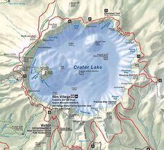 Crater Lake, Oregon | Crater Lake Nationalpark, Oregon