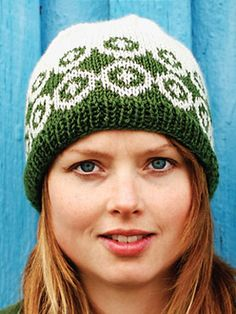 √ DIY Style: Woman's Knit Hat- I used worsted weight wool & 3.5mm and 4.5mm needles. The hat ended up child-sized.