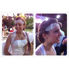 Nos mandan desde el salón de L'Hospitalet unas fotos de un peinado de novia. Está preciosa… http://ift.tt/1Rwuw1Q
