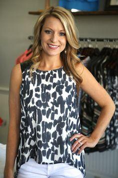 Leopard In Leather | Elle Shoptheelle.com