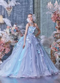 Dress fairytale Pin by Armandina Villegas on 16 bithday in 2019 Stunning Dresses, Beautiful Gowns, Pretty Dresses, Ball Dresses, Ball Gowns, Prom Dresses, Wedding Dresses, Dress Prom, Fairytale Dress