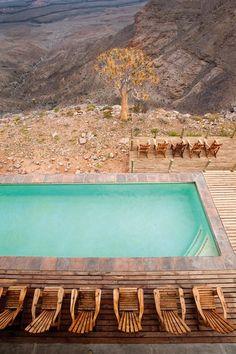 desert pool.