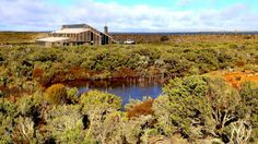 Abandoned for years, this building is now an isolated Australian lodge