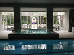 The Fitness Center, Spa and Indoor Pool at the Dublin Intercontinental Hotel - http://willrunformiles.boardingarea.com/fitness-center-spa-indoor-pool-dublin-intercontinental-hotel/