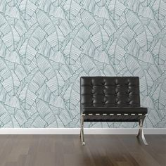 If you wanted some teal as a accent color.  Removable Wallpaper from WallsNeedLove | lifestyle