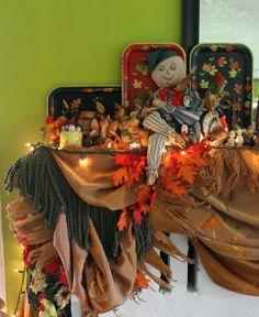 Thanksgiving Mantle 2013