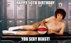 New basket ball funny quotes girls people ideas 50th Birthday Meme, Birthday Messages, Birthday Greetings, Romantic Birthday, Very Happy Birthday, Girl Quotes, Funny Quotes, Funny Memes, Famous Memes