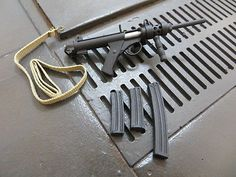 TOY WWII 1/6 ACTION FIGURE RMC British Sterling MK6A4 Long Barrel Carbine