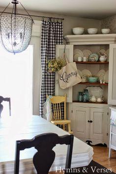 The Craft Patch Corner Hutch Furniture Makeover DIY Furniture