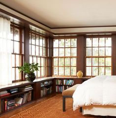 Glamorous Unique Bookshelves fashion Minneapolis Traditional Bedroom Decoration ideas with bedroom bench dark wood bookcase dark wood bookshelf dark wood column dark wood pillar Library Bedroom, Home Bedroom, Girls Bedroom, Bedroom Photos, Bedroom Ideas, Master Bedroom, Childrens Bedroom, Bedroom Designs, Dream Bedroom