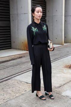 www.emfashionfiles.com Street Style / All Black