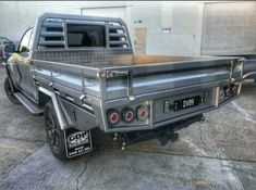 Truck Flatbeds, Truck Mods, Pickup Trucks, Offroad Accessories, Truck Accessories, Custom Truck Beds, Custom Trucks, Custom Ute Trays, Metal Work Table