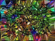 Voronoi glow