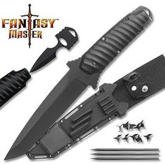 Funny Gadgets For Men Coolest Tools Ninja Tanto Battle Package Best