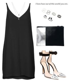 """""""Untitled #1397"""" by susannem ❤ liked on Polyvore featuring Topshop, Gianvito Rossi, ASOS and Fremada"""