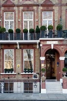 London's Most Charming Small Hotels - from TODAY Show Travel and Travel + Leisure magazine (20 Nevern Square and Dean Street Townhouse)