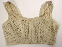 1910's brassiere from http://www.metmuseum.org/works_of_art/collection_database/the_costume_institute/brassiere/objectview.aspx?page=1319&sort=0&sortdir=asc&keyword=&fp=1&dd1=8&dd2=0&vw=1&collID=8&OID=80037291&vT=1&hi=0&ov=0