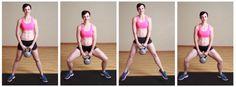 Kettle-bell-squat